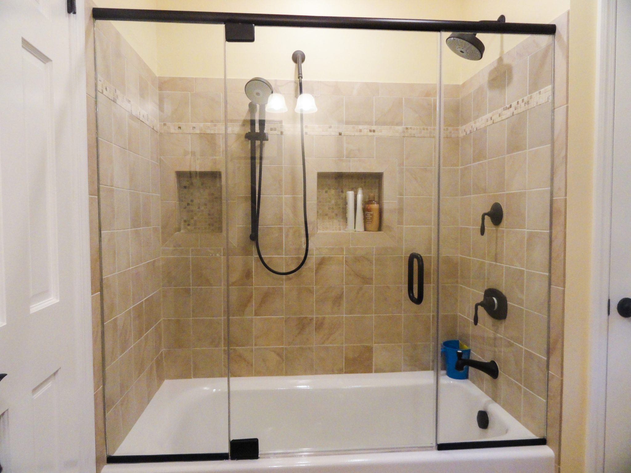 shower glass doors nj - Bathtub Shower Doors
