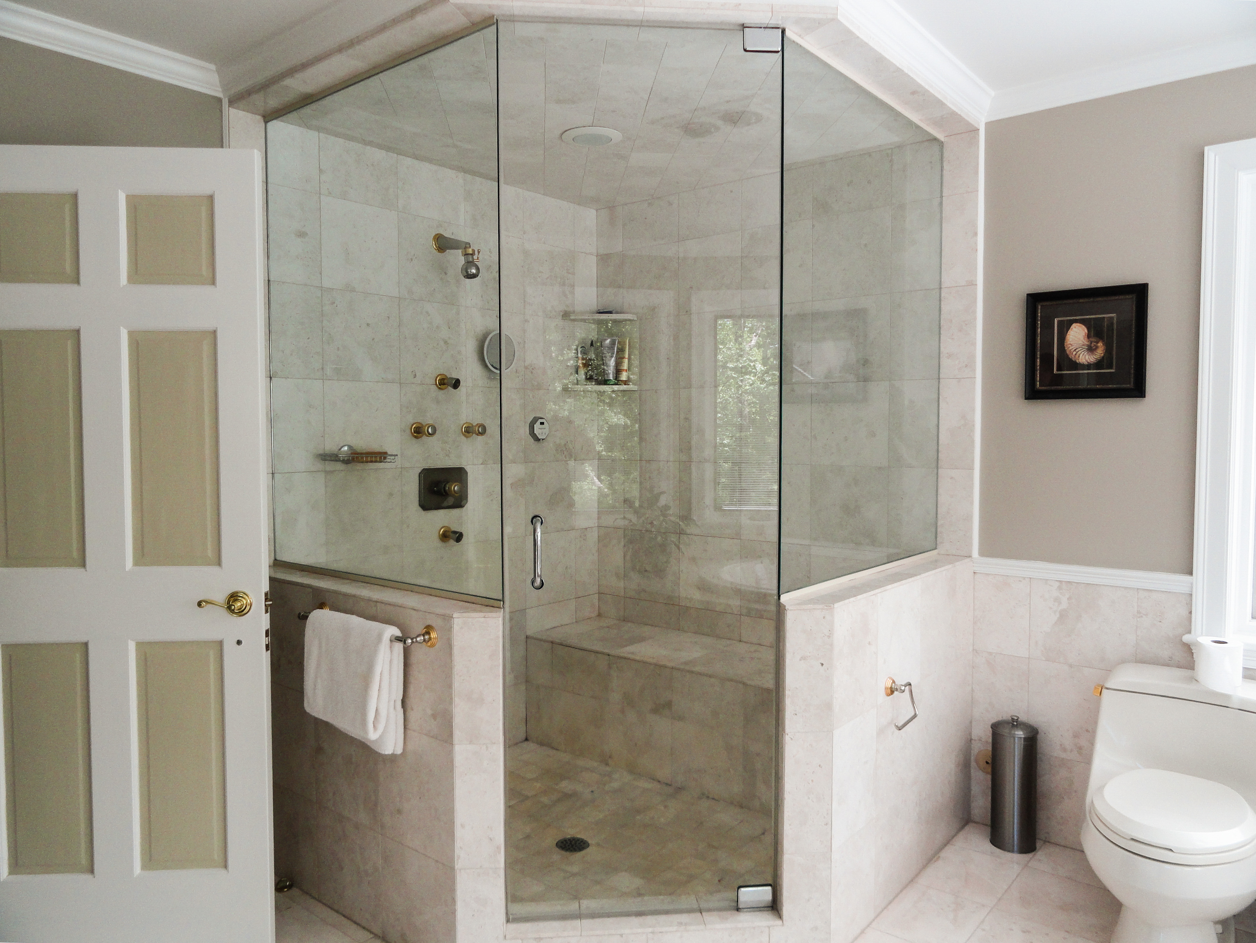 Neoangle Steam Shower With Knee