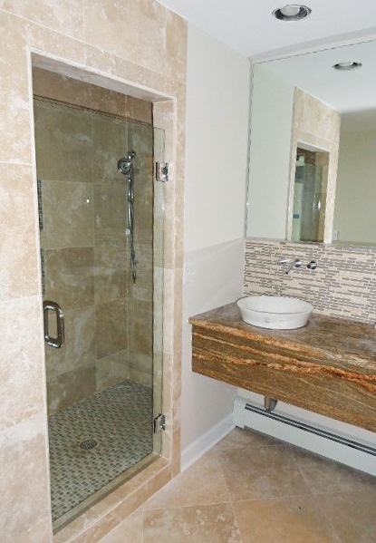 custom shower glass nj
