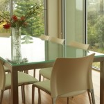glass table top designs nj