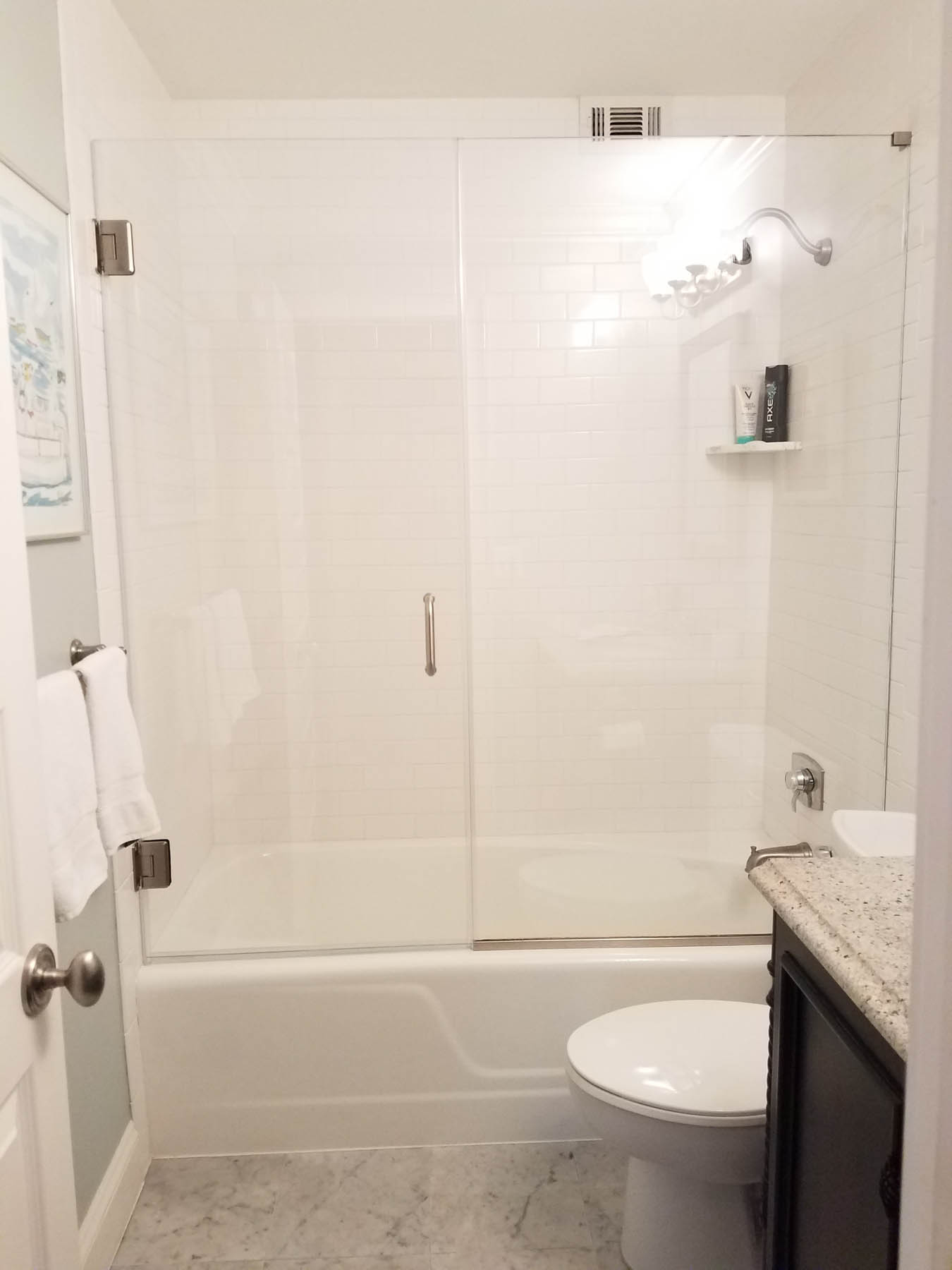 Tub Showers Doors in New Jersey   Allied Glass & Mirror